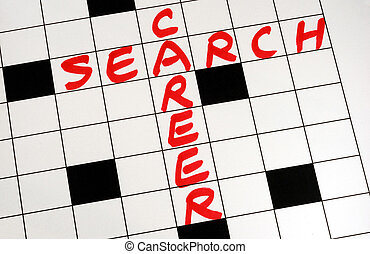 Write the words Career Search