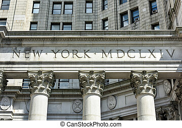 Municipal Building - New York City - Municipal Building in...