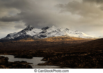isle of Skye - the Scottish Highlands, Isle of Skye,...