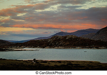 Scottish Sunet - Sunset in the scottish highlands