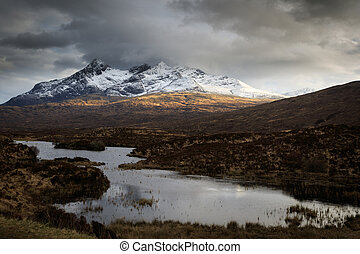 The Scottish Highlands, Isle of Skye, Scotland, UK