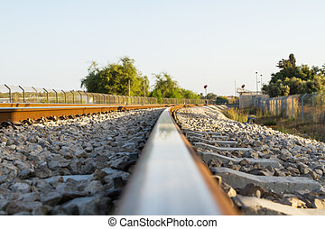 Rail anchor , Rail joints , Rail , crushed stone .