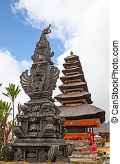 Water temple at Bratan lake, ulun danu bedungul, Bali