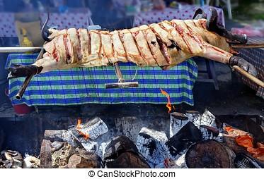 Native Barbecue in Taiwan