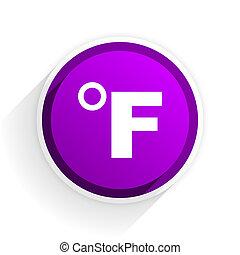 fahrenheit flat icon