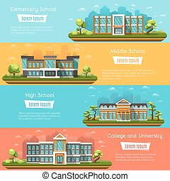 School and University buildings - Elementary and Middle...