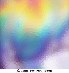 Mosaic holographic texture - An abstract colorful mosaic...