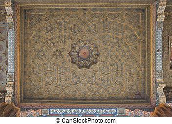 Vintage oriental patterns