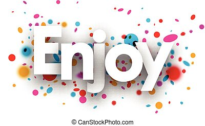 Enjoy paper background. - Enjoy paper background with color...