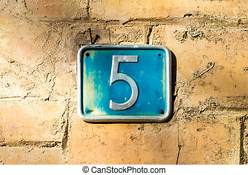 5, 數字