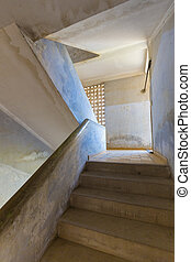Interior of Tuol Sleng Museum or S2 - Interior of Tuol Sleng...