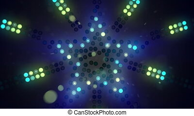 neon star signboard flashing loopable - neon star signboard...