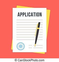 Application Form Stock Illustrations 7 235 Application