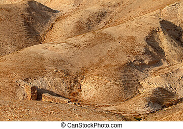 Judean desert landscape - Mountainous Judean desert...