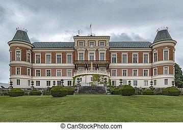 hackeberga castle in Skane, Sweden.