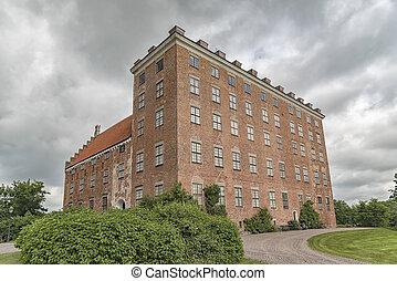 Svaneholm Slott in Skane - Svaneholm castle in Skane,...