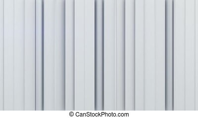 White vertical stripes 3D rendering - White vertical stripes...