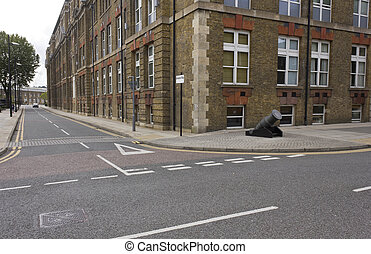Royal Arsenal Street in London - Royal Arsenal Street in...