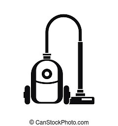 Vacuum cleaner icon, simple style - Vacuum cleaner icon in...