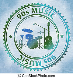 Nineties Music Shows Soundtrack Acoustic And Sound -...