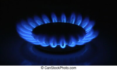 Gas flame - Kitchen gas flame