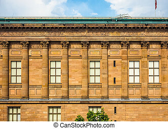 Alte National Galerie in Berlin HDR - High dynamic range HDR...