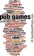 Pub games-vertical