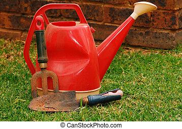 工具, 上水, 園藝, 罐頭