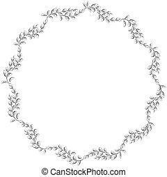 Vector Retro Circular Background