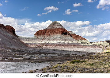 The Tepees - Petrified Forest National Park - The Tepees in...