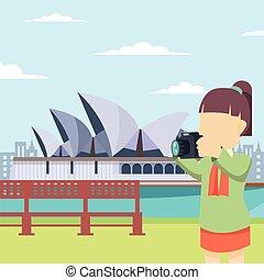 girl tour opera house