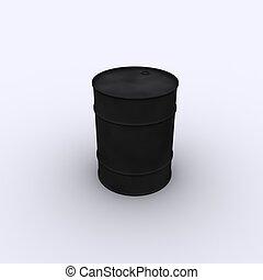 oil drum  - 3d oil drum