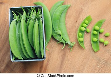 Green soybeans