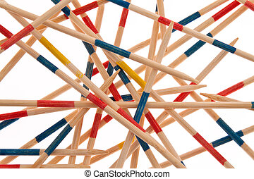 Symbol of chaos, network, together - Photo as a symbol of...