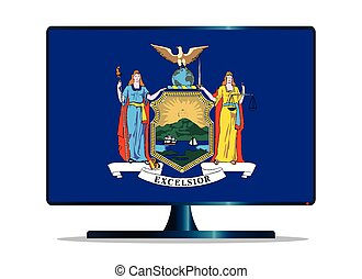 New York Flag TV