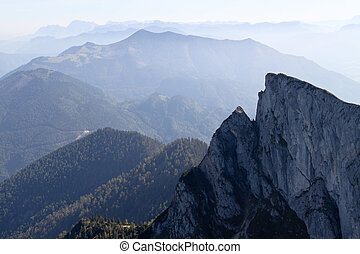Austria, view from Schafberg