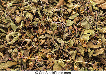 Organic dry Holy Basil leaves - Organic dry Green or Holy...