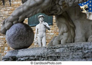 Italia, Toscana, Florencia, david