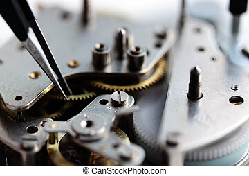 Repair of watches (small DOF)