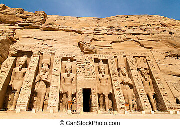 Egypt, Abu Simbel, Felstempel - Highlight of a trip to...