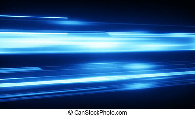 Blue light streaks loopable modern background - Blue light...