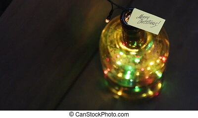 Merry Christmas concept - Merry Christmas idea, label and...