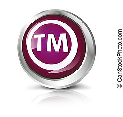 button with Trademark symbol.