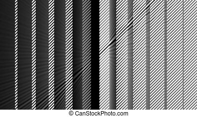Abstract motion background with stripes. Seamless loop