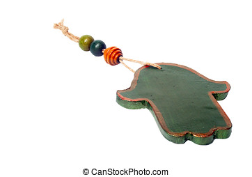 Green Hamsa - Hamsa - popular amulet for protection from the...