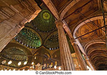 Egypt, Cairo Mohammed Ali Mosque Inside - Egypt, Cairo...