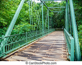 Hibernia Mine Railroad Bridge - The Hibernia Mine Railroad...