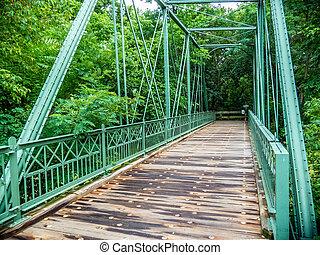 Hibernia Mine Railroad Bridge - The Hibernia Mine Railroad...