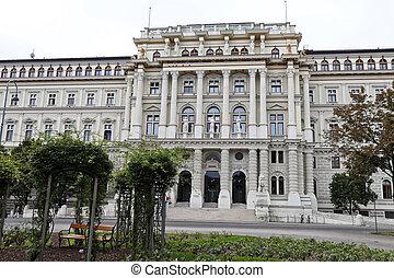 Austria, Vienna, Supreme Court, Supreme Court