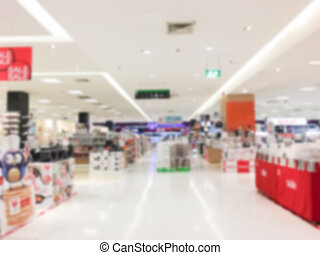 blur luxury retail and shopping mal - Abstract blur luxury...